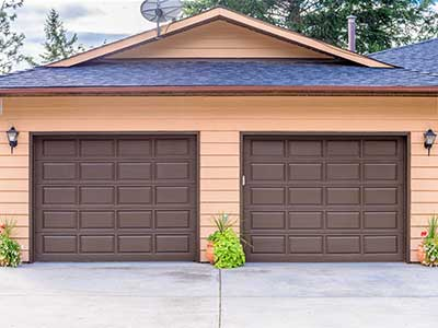 double garage doors chicago